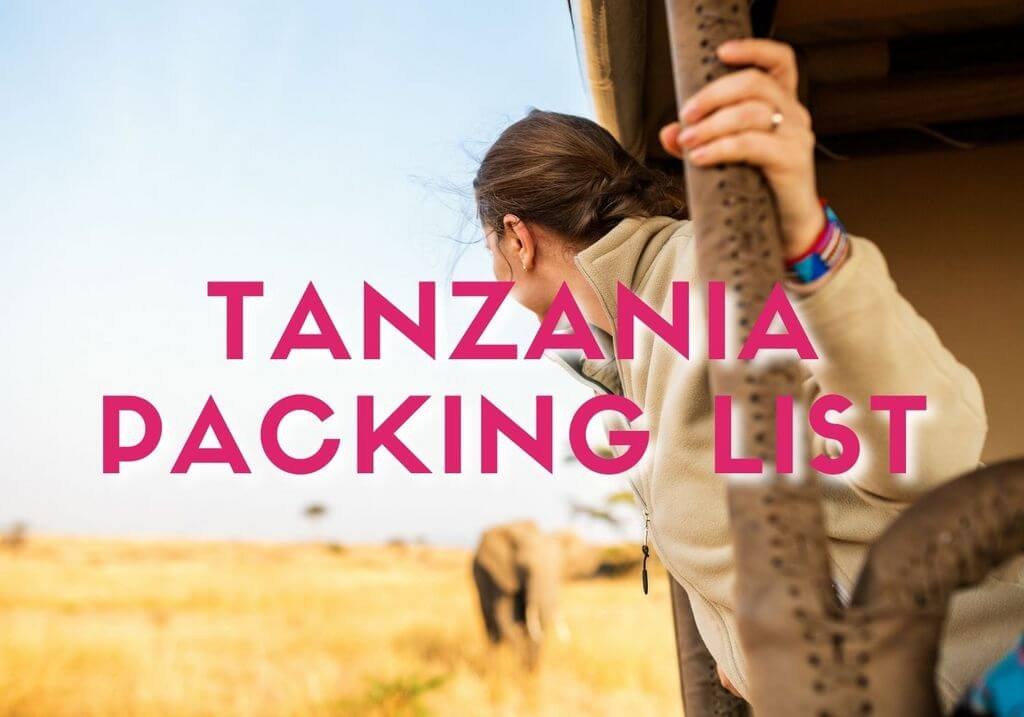 Tanzania packing list