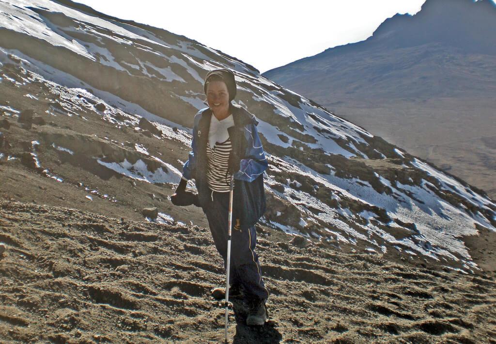 Hiking gear on Kilimanjaro