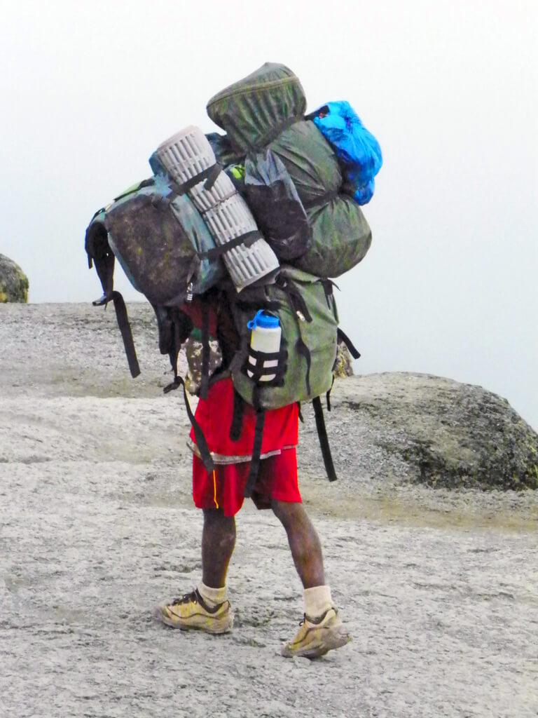 Luggage on Kilimanjaro packing list