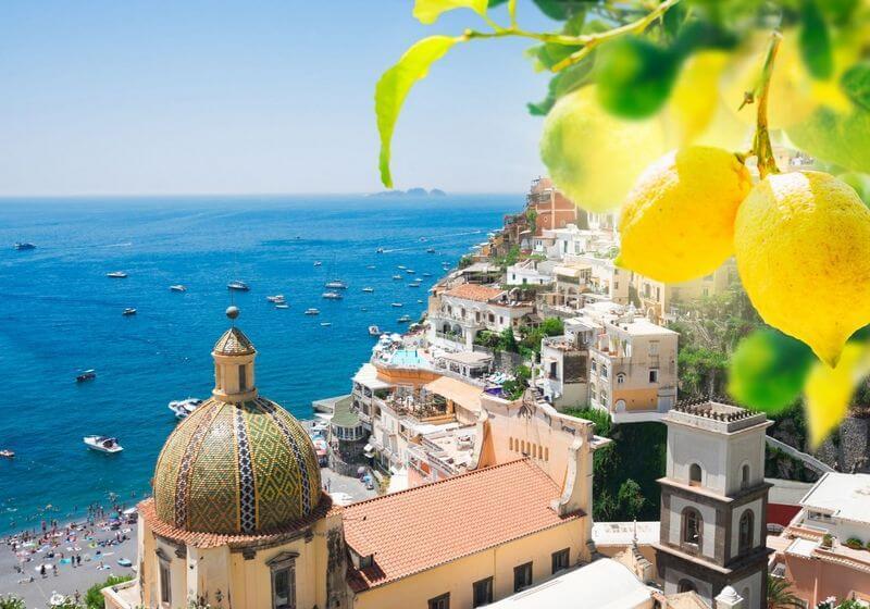 Positano Amalfi Coast Lemon Farm